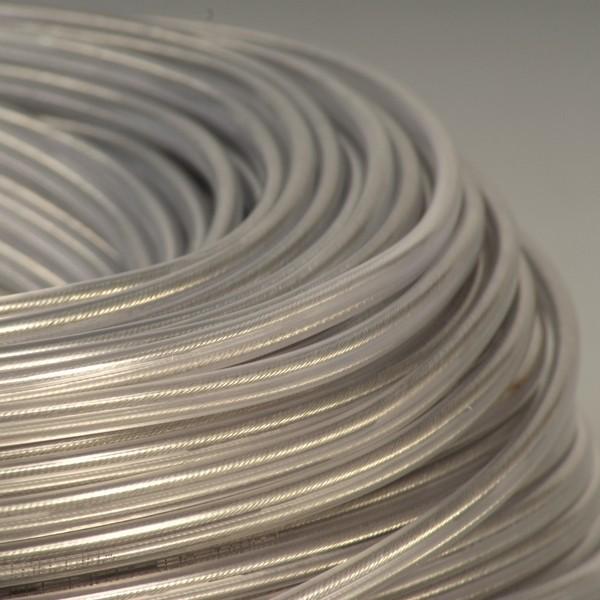 cable plat transparent falbala luminaires. Black Bedroom Furniture Sets. Home Design Ideas