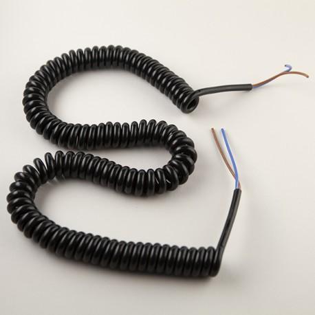 Cordon spiralé 2x0.75mm² - Falbala Luminaires