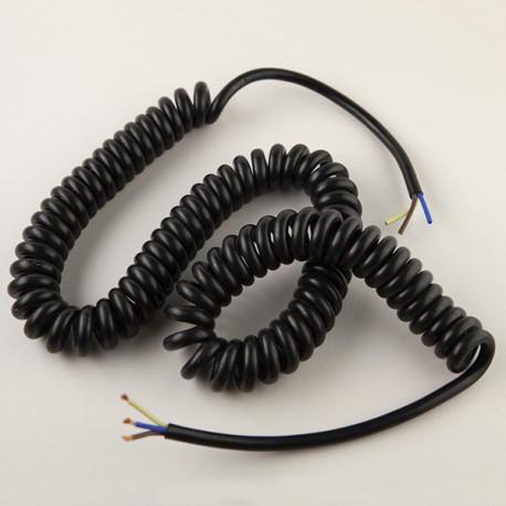 Cordon spiralé 3x0.75mm² - Falbala Luminaires
