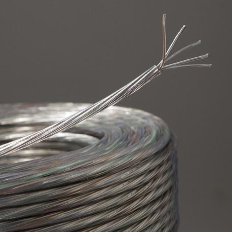Câble rond transparent 5 x 0,75 - Falbala-luminaires