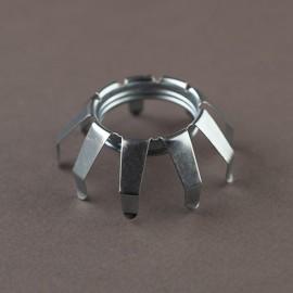 Bague ressort araignée sur E14 - Falbala Luminaires