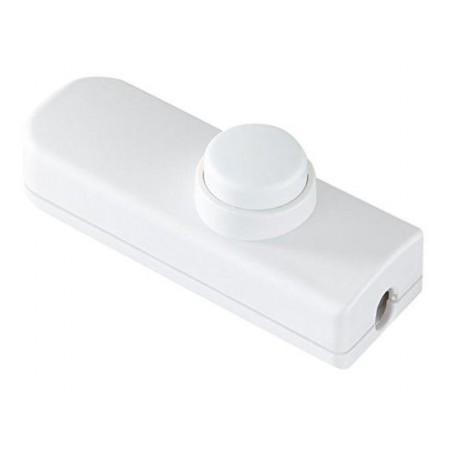 Interrupteur à main double allumage blanc - Falbala-luminaires