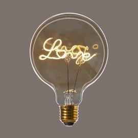 Globe Love D95 - E27 - 5W - Falbala-luminaires