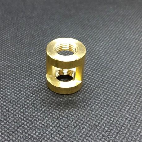 Etrier laiton 10X1 - Falbala Luminaires