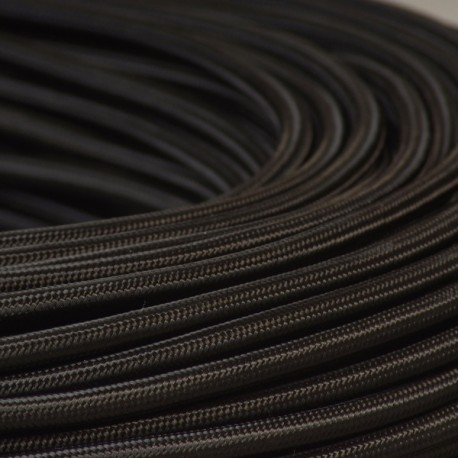 cable textile noir. Black Bedroom Furniture Sets. Home Design Ideas