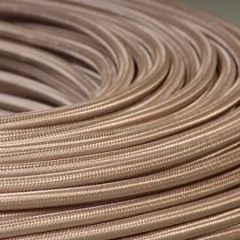 Câble textile Tourterelle 2x0.75mm² - Falbala-luminaires