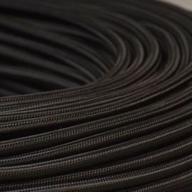 Câble textile noir 3x0.75mm² - Falbala-luminaires