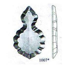 Plaquette cristal 1007 - Falbala-luminaires