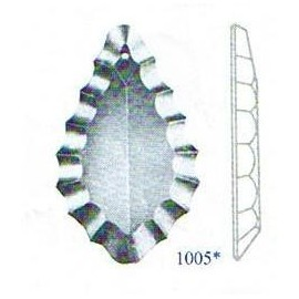 Plauette cristal 1005 - Falbala-luminaires