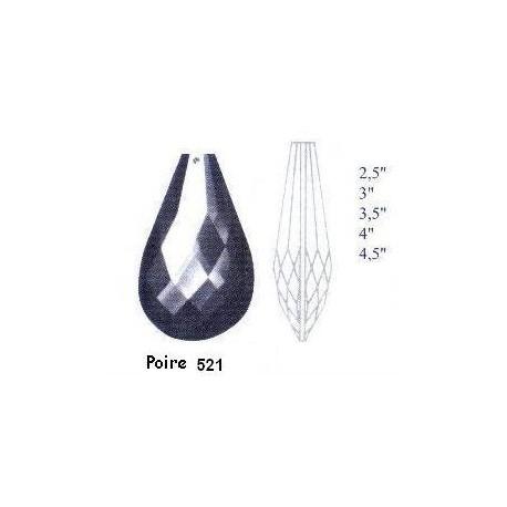 Poire 521 pour lustre - Falbala-luminaires