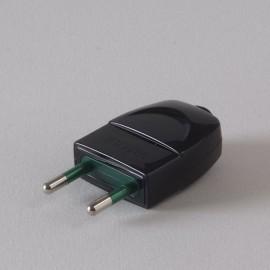 Fiche 10A noire - Falbala-luminaires