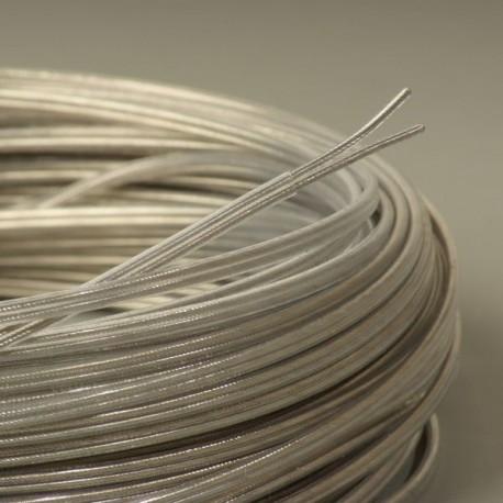 Cable transparent teflon 2x0 75mm2 - Cable electrique plat ...