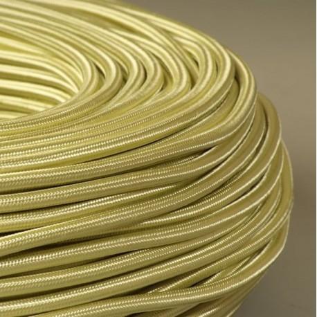 Câble textile Pistache 2x0.75mm² - Falbala-luminaires