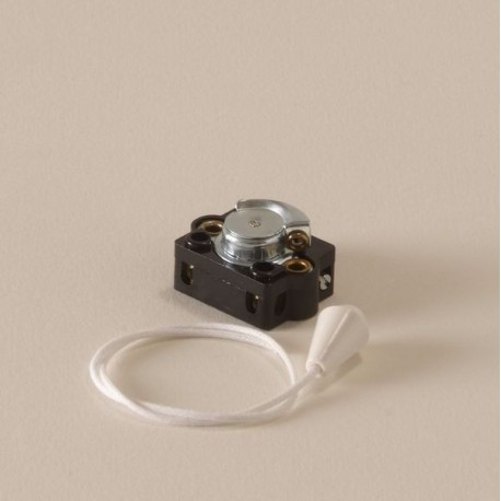 Interrupteur à tirette double allumage - Falbala-luminaires