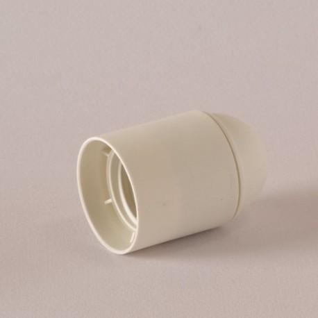 Douille E27 thermoplastique lisse blanc - Falbala luminaires