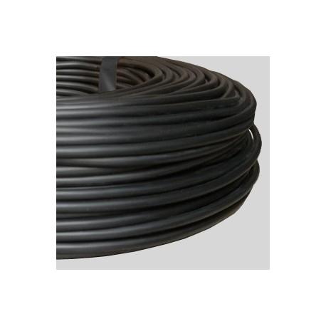 Câble rond PVC noir 2 x 0,75 - Falbala-luminaires