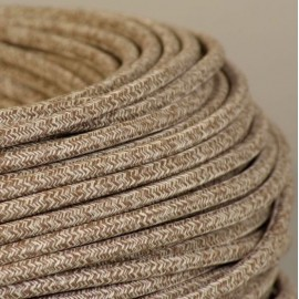 CABLE TEXTILE CHINE BEIGE