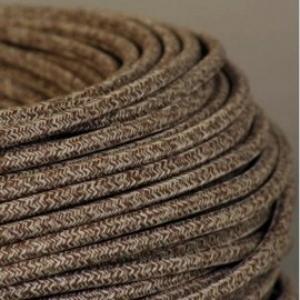 CABLE TEXTILE CHINE MARRON