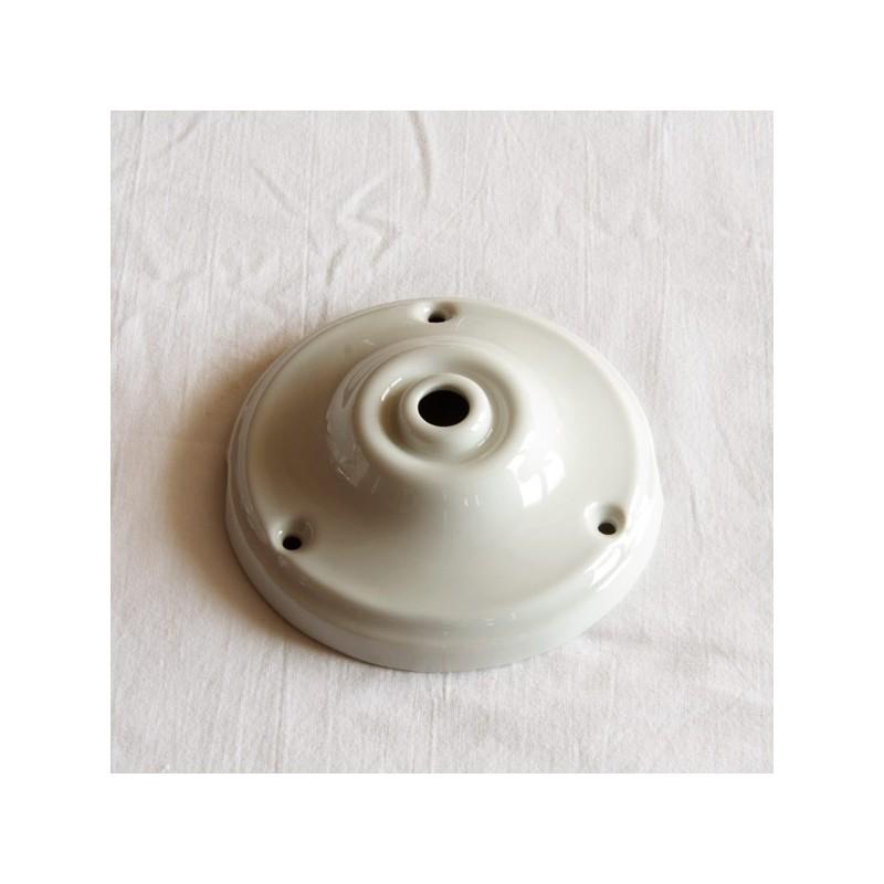 interesting rosace porcelaine lisse d with rosace cache fil. Black Bedroom Furniture Sets. Home Design Ideas