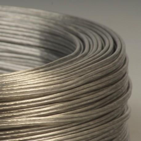 cable scindex 2x0 75mm2 argent transparent. Black Bedroom Furniture Sets. Home Design Ideas