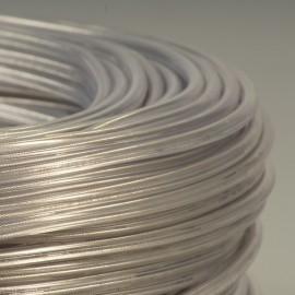 CABLE TRANSPARENT 2X0.75² + filin acier
