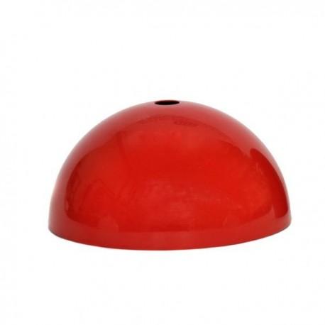 Pavillon demi-sphère rouge