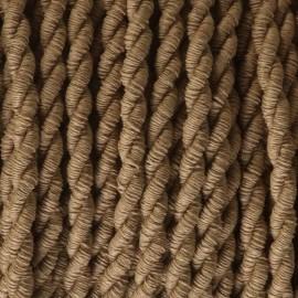 Câble textile torsadé 2x0.75mm² kraft