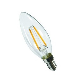 FLAMME LED DROITE E14 2W