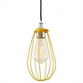 Cage jaune - Falbala-luminaires