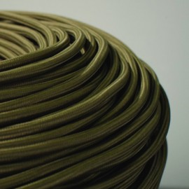 CABLE TEXTILE OLIVE