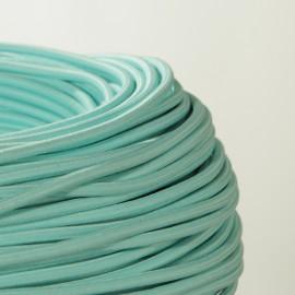 Câble textile Menthe - Défaut- 2 X 0.75mm