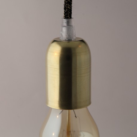 Cache-douille laiton - Falbala-luminaires