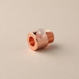 Serre câble lisse cuivre-Falbala Luminaires