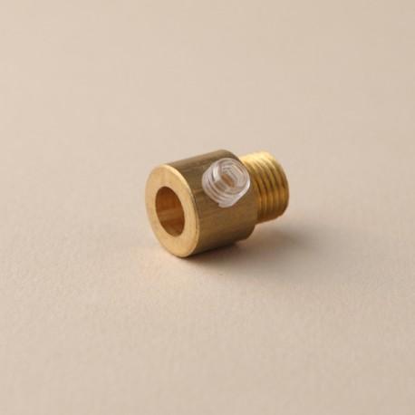 Serre-câble lisse laiton - Falbala-luminaires
