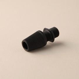 Serre-câble cannelé noir