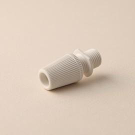 Serre-câble cannelé blanc