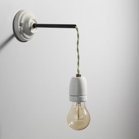 Kit pour applique porcelaine for Quincaillerie luminaire