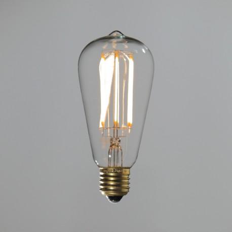 La Rétro filament long - 6w - Falbala-luminaires