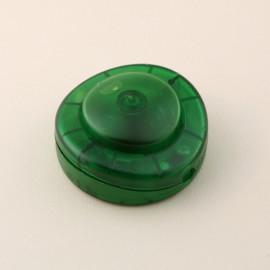 Interrupteur à pied rond vert