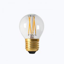 SPHERIQUE FILAMENT LED CLAIRE E27 4W