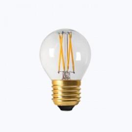 Sphérique Filament Led claire E27 4W