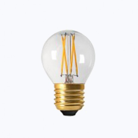 Sphérique filament led claire E27 - 4W - Falbala-luminaires