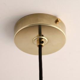 Pavillon plat laiton - Falbala-luminaires