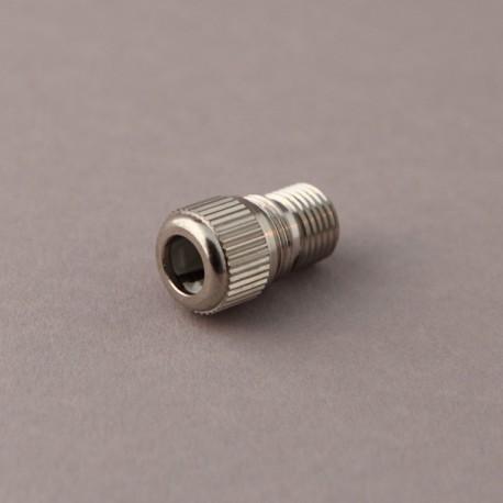 Serre-câble métal nickelé - Falbala-luminaires