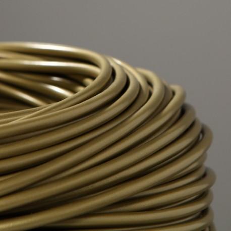 Câble rond PVC or 3 x 0,75 - Falbala-luminaires