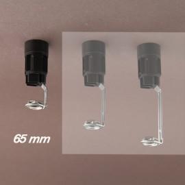 Support bougie E14 d24 - Becs - ht 65 - Falbala-luminaires
