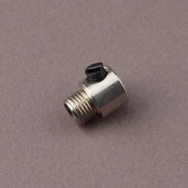 Serre-câble lisse nickel