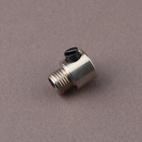 Serre-câble lisse nickel - Falbala-luminaires