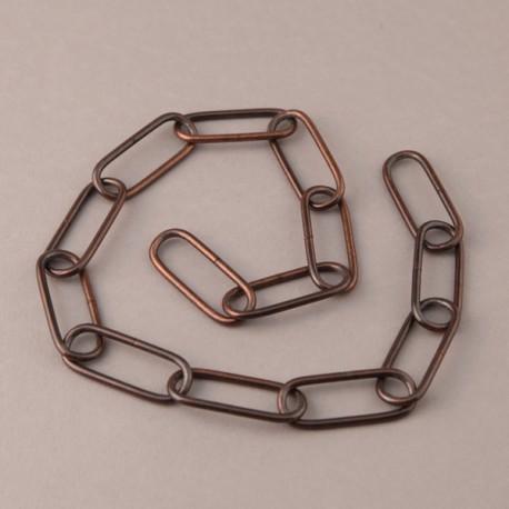 Chaine PM bronzée - Falbala-luminaires