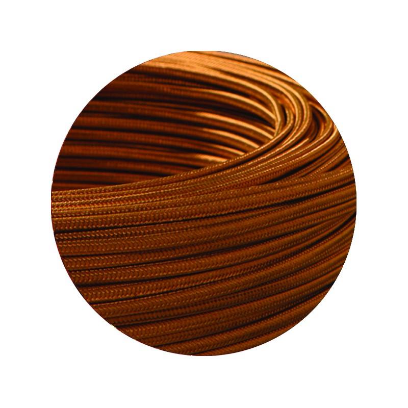 cable textile plat bronze. Black Bedroom Furniture Sets. Home Design Ideas